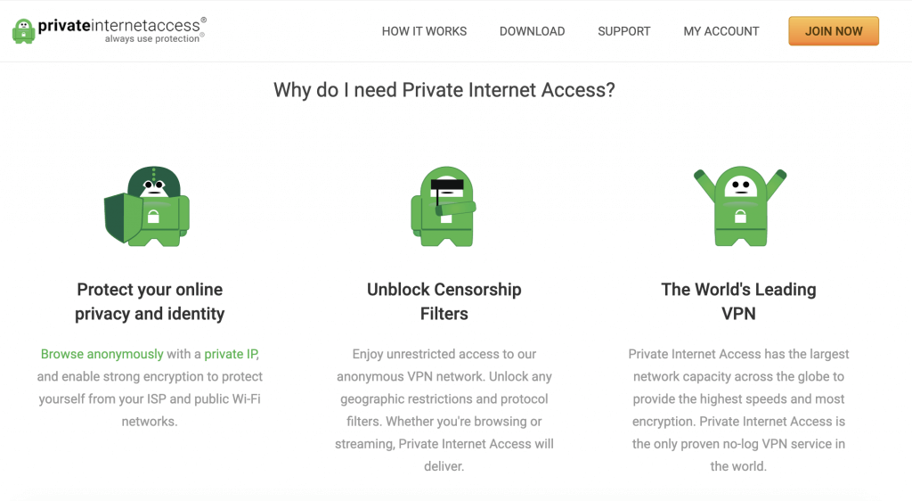 safe vpn for pirating private internet access